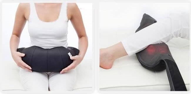 Masseur cervical polyvalent pour ventre ou mollet