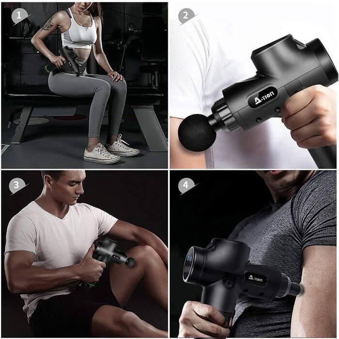 Pistolet de massage Action