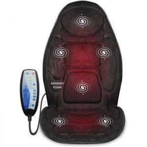 Siège de massage Snailax pour bureau ou voiture